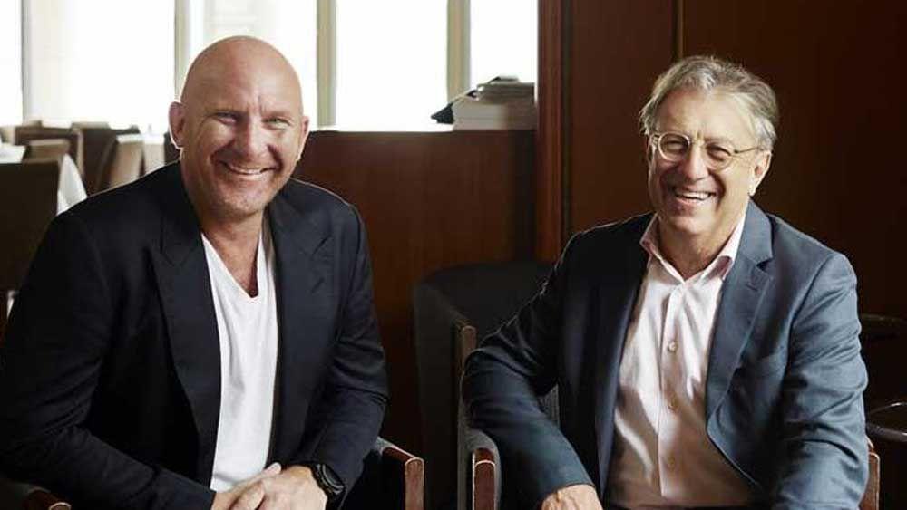 Matt Moran and Bruce Solomon