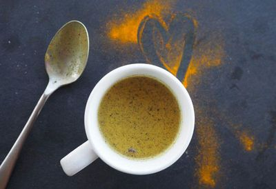 "<a href=""http://kitchen.nine.com.au/2016/06/16/11/25/scott-goodings-turmeric-latte"" target=""_top"">Scott Gooding's turmeric latte<br /> </a>"