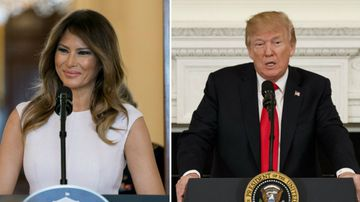 'Don't want sickos with guns': Trump, Melania speak on Florida shooting