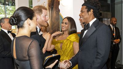 Prince Harry and Meghan Markle with Beyonce and Jay Z