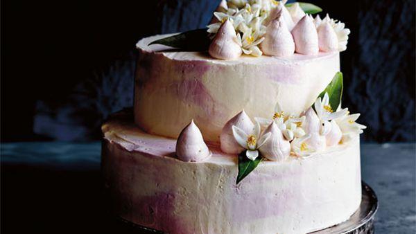 Caroline Griffith's orange blossom, yogurt and semolina cake