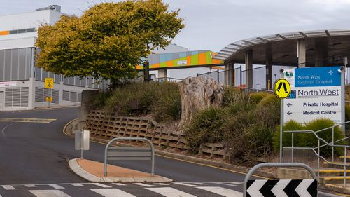 The North West Private Hospital is seen closed in Burnie, Tasmania, Tuesday, April 14, 2020