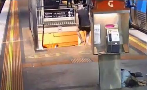 Man charged after 'one-punch assault' at Melbourne train station