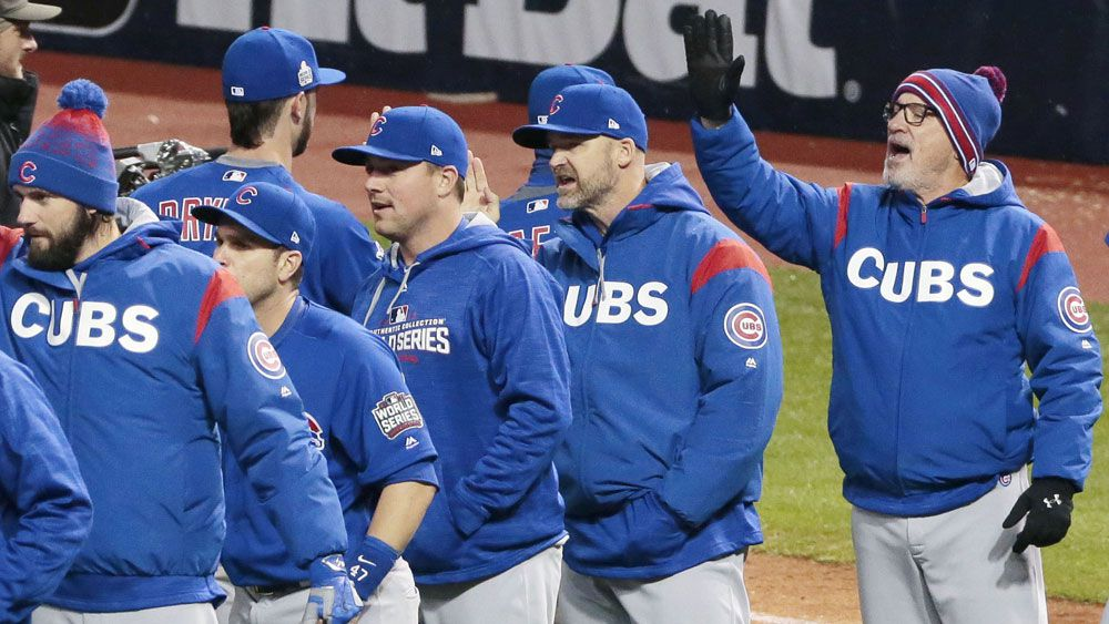 Chicago Cubs square up the World Series at 1-all. (AAP)