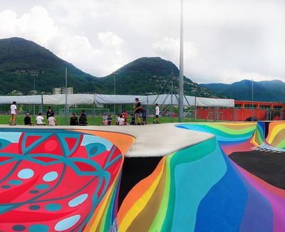 <strong>Skate Park, Lugano, Switzerland</strong>