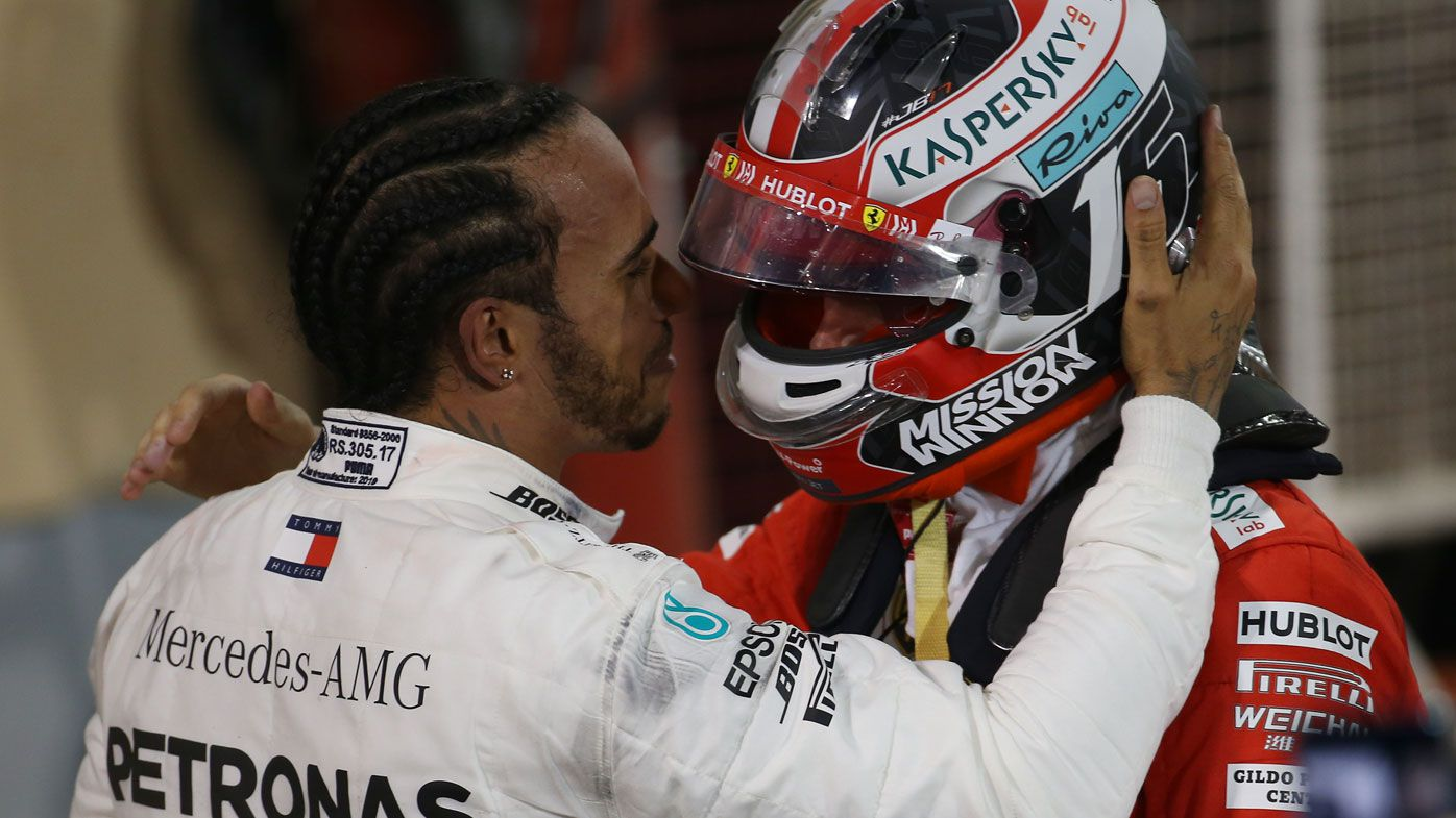 Lewis Hamilton wins Bahrain GP as Ferrari's Charles Leclerc suffers heartbreak