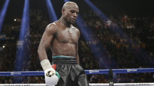 Boxing champ Floyd Mayweather was the world's third fittest athlete. (AAP)