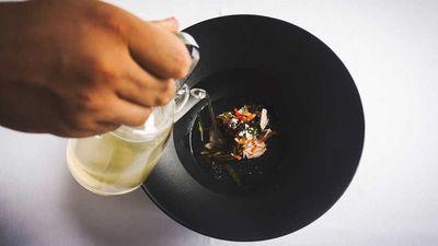 "<a href=""http://kitchen.nine.com.au/2017/05/16/09/58/garydhiya-maldivian-fish-soup"" target=""_top"">Garydhiya Maldivian fish soup</a>"