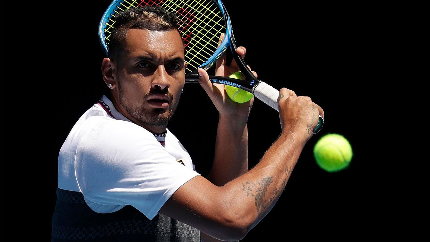 Nick Kyrgios admits he is struggling to 'lay it on the line' ahead of Raonic clash