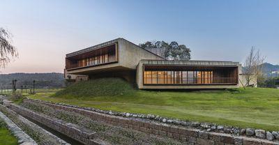 Fushengyu Hotspring Resort by Aim Architecture, China.