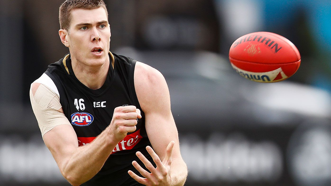 Injured Collingwood star Mason Cox opens up on a second eye surgery after accidental poke
