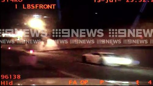 Hang Shu was caught speeding at 208km/ in an 80km/h zone in Sydney's eastern suburbs. (9NEWS)