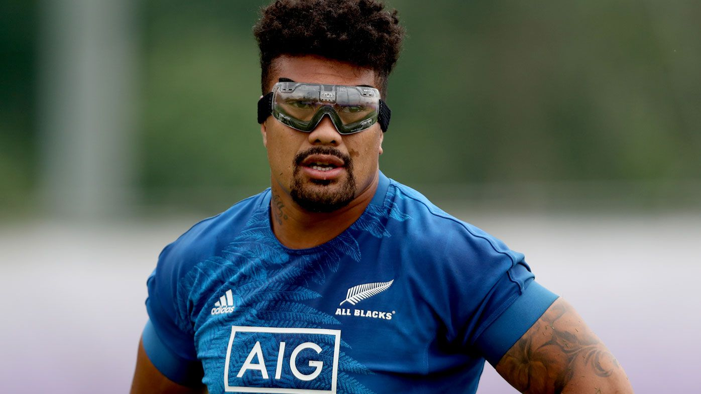 All Blacks star Ardie Savea becomes first player to wear goggles at Rugby World Cup