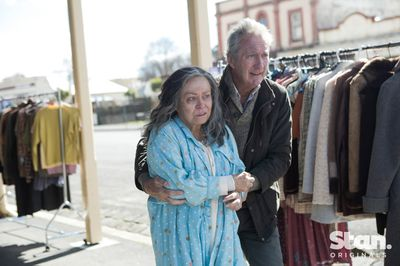 Jacki Weaver as Gwen and Bryan Brown as Ray