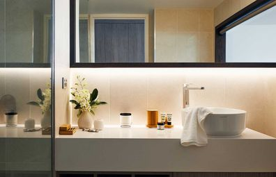Ensuites are modern, kitted with Biology amenities.