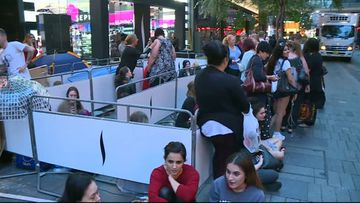 Crowds camp overnight to be first inside Sephora's flagship Australian store
