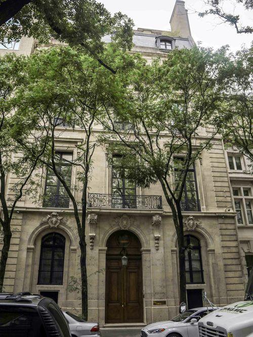 The Manhattan residence of Jeffrey Epstein.