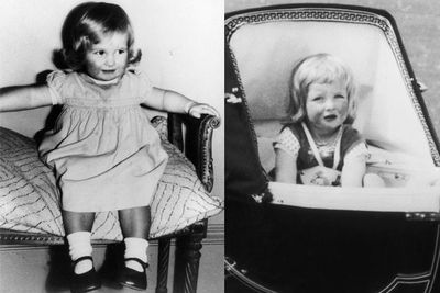 Years before she wed <b>Prince Charles</b> and became a Princess,<b> Lady Diana </b>w<b></b>was an adorable bub. Here, Di is just two years old in 1963. She was photographed at Park House, Sandringham, Norfolk.