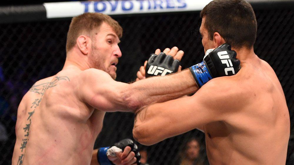 Miocic new UFC heavyweight champion