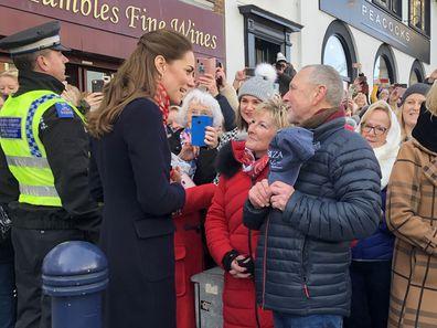 Duchess of Cambridge teachers in Wales