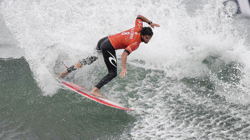 Matt Wilkinson was knocked out in the second round at Trestles. (WSL)
