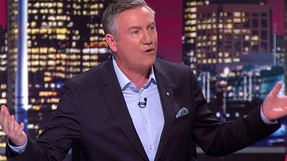 Footy Show host Eddie McGuire defends AFL after Sam Newman blows up over league's marriage equality stance