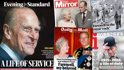 British press pays tribute
