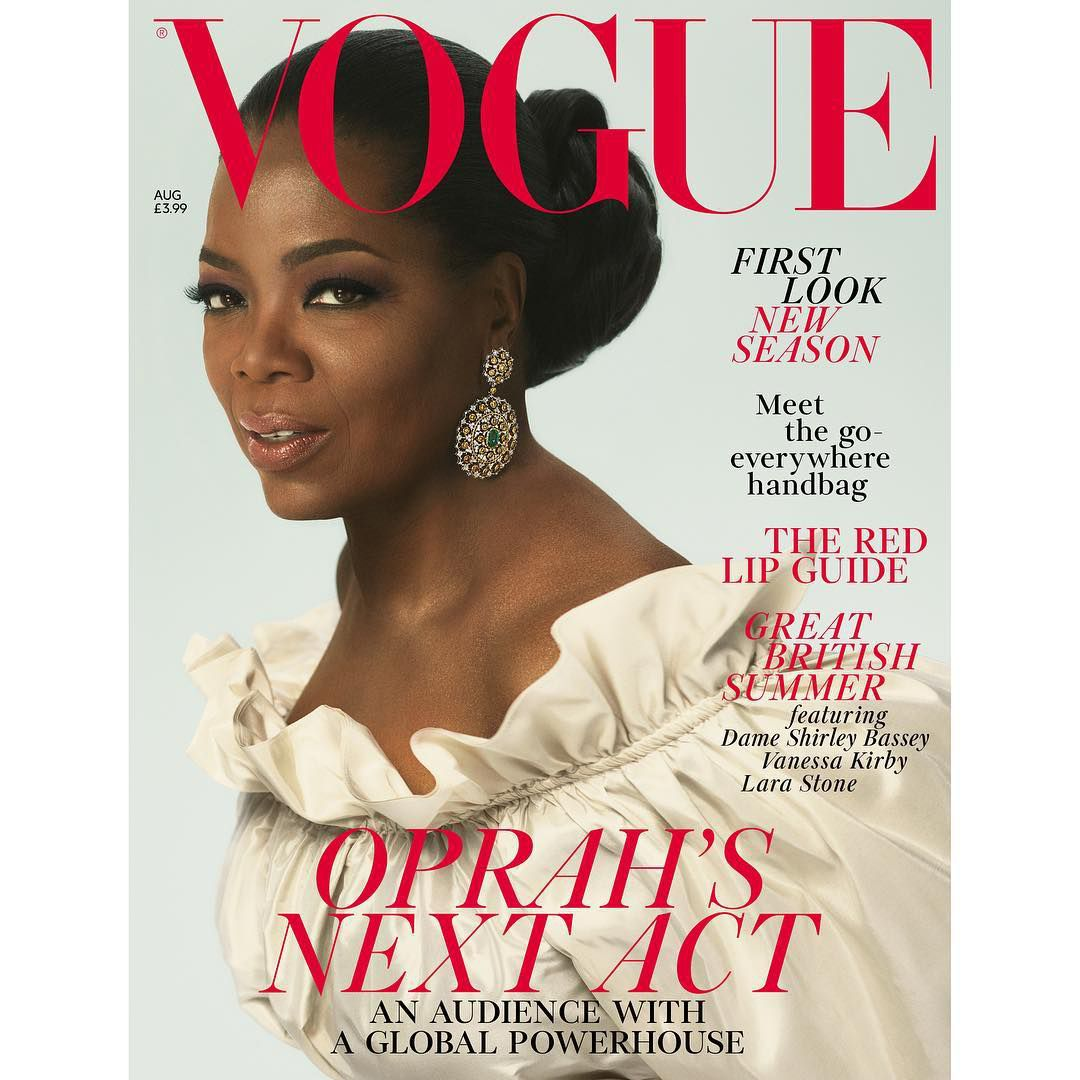 Oprah Winfrey is Stunning on the Cover of British Vogue 2018 Issue!