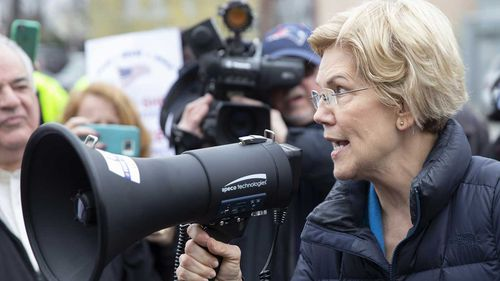 Elizabeth Warren has called for Donald Trump to be impeached.