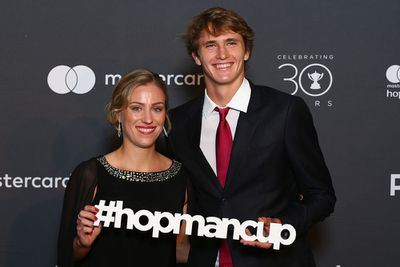 <strong>GERMANY: Angelique Kerber and Alexander Zverev. (Getty)</strong>