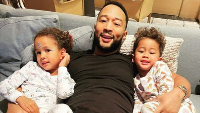 John Legend, Luna and Miles