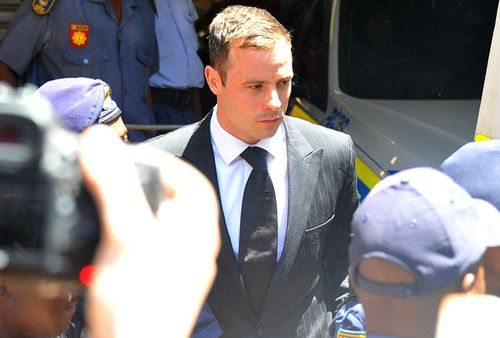There were chaotic scenes outside court after he was sentenced.