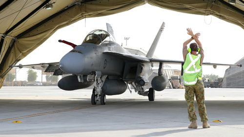 Australian fighter jets could bomb Syria within days