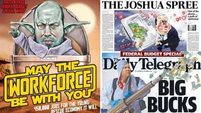 The Budget front pages