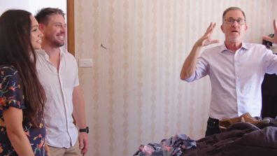 Peter Walsh is stunned by the amount of stuff in Arielle and Mark's master bedroom