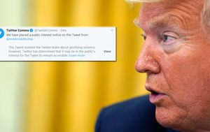 Twitter is now in completely uncharted waters with US President Donald Trump