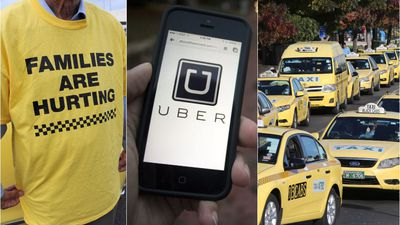 Melbourne cabbies sue Uber for $500 million