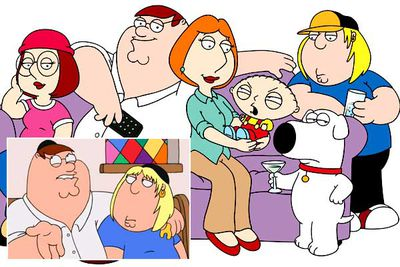 <b>Banned because:</b> The season four episode 'When You Wish Upon a Weinstein' pokes fun at Judaism, with neighbourhood dunderhead Peter Griffin deciding he wants to convert his son because Jews are apparently richer and more successful people. Concerned that the Jewish jokes might be interpreted as anti-Semitism (despite the fact that the episode was written and performed by Jewish entertainers), US network Fox banned the episode for two years. <br/><br/><b>It gets weirder:</b> Fox also banned the season eight episode 'Partial Terms of Endearment', in which Lois considers whether to have an abortion.