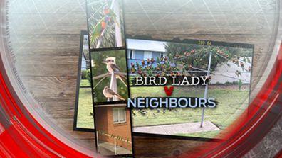 Bird lady v neighbours