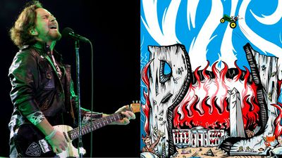 Republicans furious at Pearl Jam 'White House in flames' poster