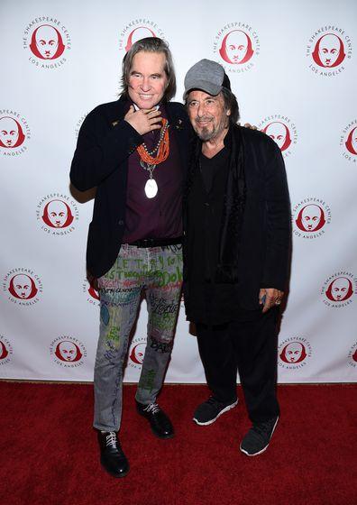 Val Kilmer, Al Pacino, together, red carpet, event
