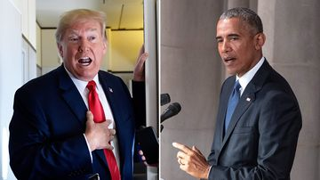 "Former President Barack Obama said his successor President Donald Trump is ""the symptom, not the cause"" of division and polarisation in the US."