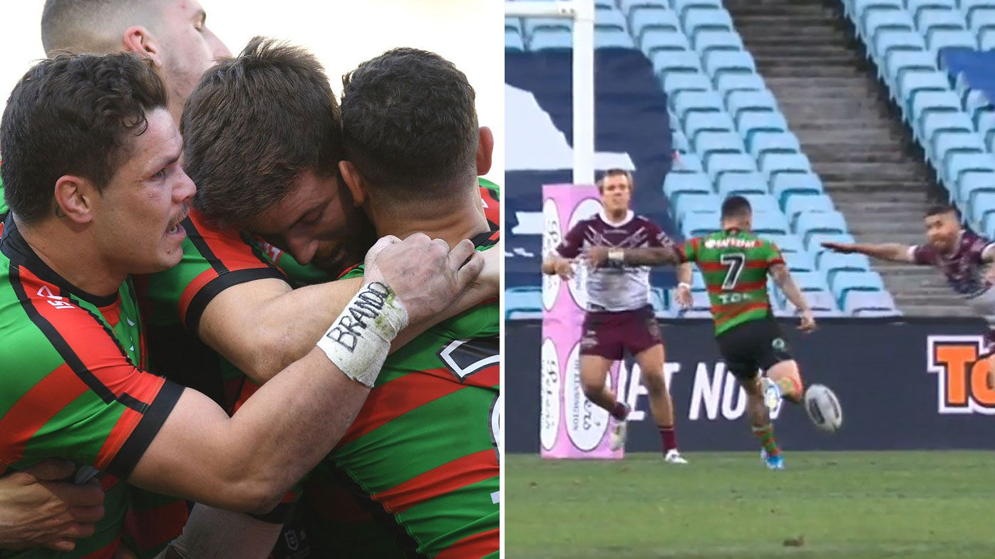 NRL: Adam Reynolds fires Bunnies past Manly in one-point nail-biter