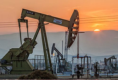 Oil pumpjacks (Getty)