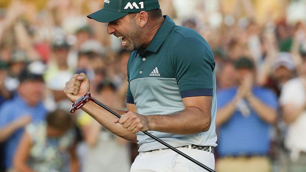 Spain's Sergio Garcia's scores emotional drought-breaking Masters win