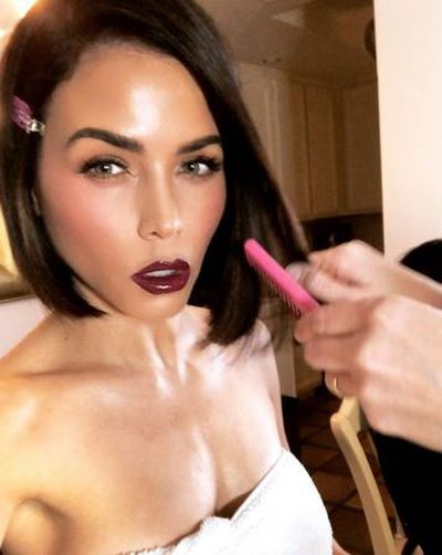 """<p><strong><em>Jenna Dewan</em></strong></p> <p>""""To keep the glass bob looking sharp, regular haircuts is a must. Visit your hairdresser every 5-6 weeks,"""" Habbaki said.</p>"""