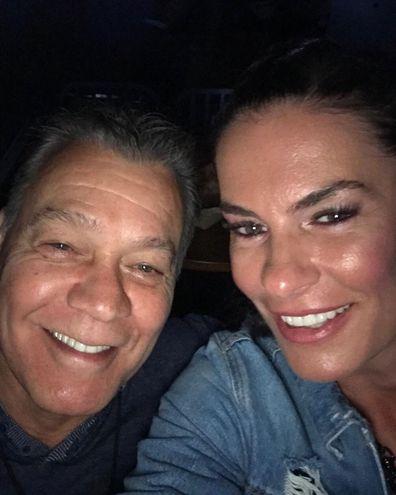 Eddie Van Halen and Janie Liszewski