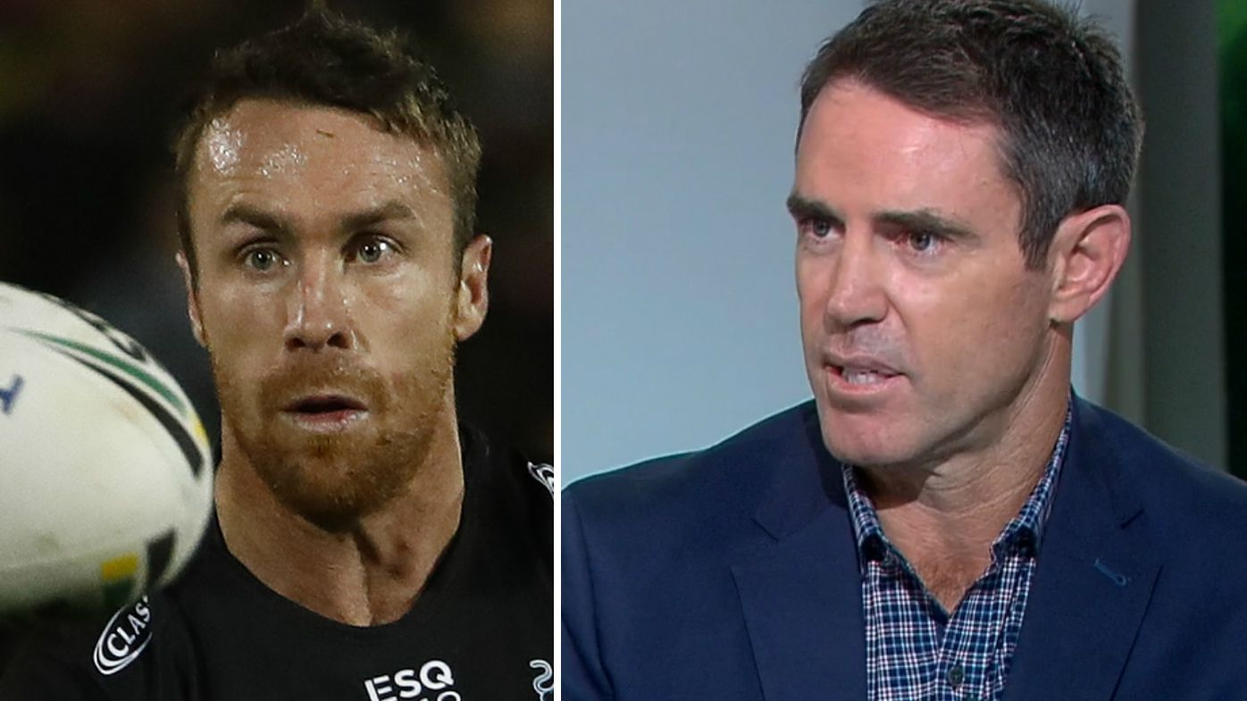 Brad Fittler and James Maloney