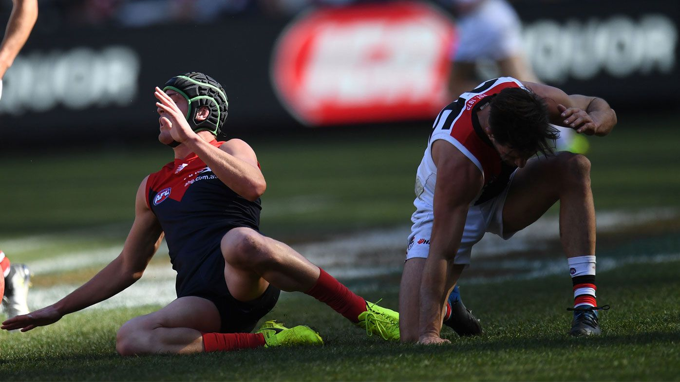 Concussion ends St Kilda Saints young-gun Koby Stevens' AFL season