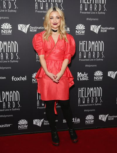 Kate Miller-Heidke the Helpmann Awards 2017, Capitol Theatre, Sydney.
